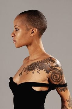 african american black women girls tatted tatts in tattoos ink and ...