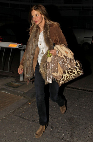 Trinny Woodall Trinny Woodall seen in North London She is seen