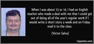 More Victor Salva Quotes