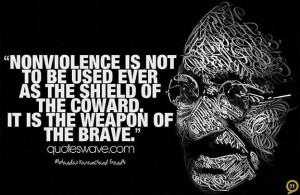 Nonviolence - Gandhi