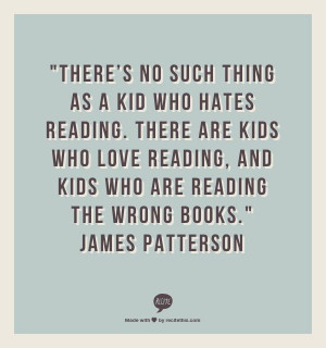 So true quote by James Patterson