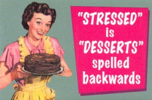 ... funny, red, quote, true, vintage style, stressed, pin up, quotes