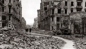 Jewish resistance fighters made sporadic raids from their bunkers, but ...