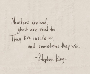 quote # saying # stephenking # stephanking # horror # scary # creepy ...