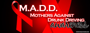 Madd Mothers Against Drunk Driving Awareness Cover Comments