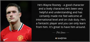 Phil Jones Quotes