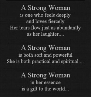 what is a strong woman inspirational quote