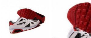 Undoubtedly Selection Running Shoes Men White Red Nike Air Max 91 Best