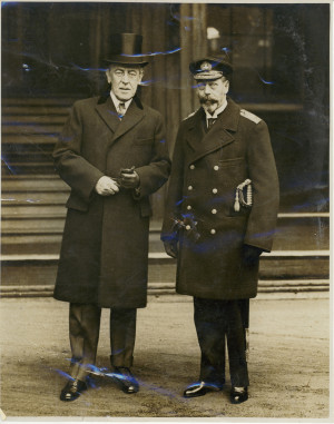 Woodrow Wilson Quotes On World War 1 Woodrow wilson and king george