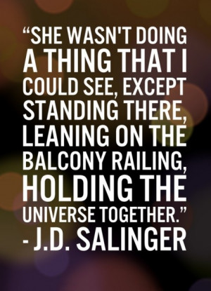 Tips from the Masters: J.D. Salinger