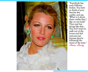 Blake Lively Quotes Image