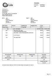 debit note format