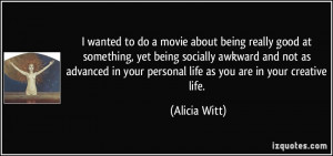 movie about being really good at something, yet being socially awkward ...