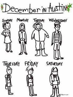 Texas weather!!! So true:):)