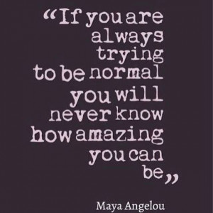 You Are Amazing.....