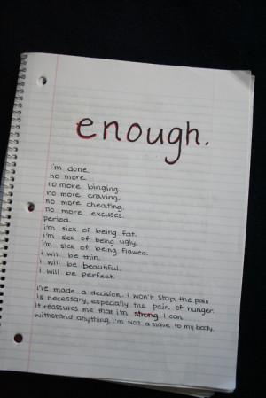Anorexia Quotes Tumblr