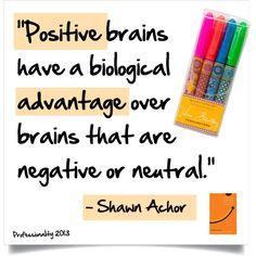 Positive brains a la Shawn Achor