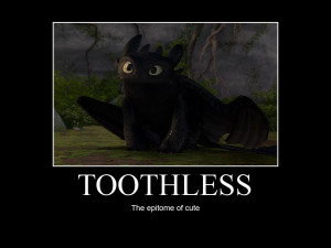 HTTYD-Toothless by IllusionEvenstar