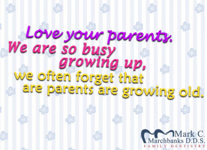 quotes about parents growing older