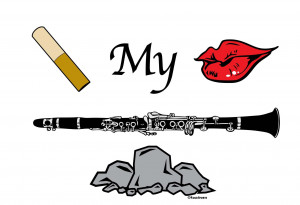 : Clarinet Quotes , Clarinet Sayings For T-shirts , Funny Clarinet ...