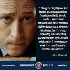 Jon Stewart quote.