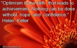 TAGS: optimism faith chievement hope confidence