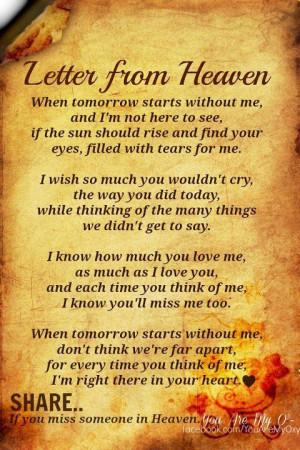 Missing grandparents