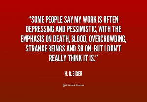 Giger Quotes
