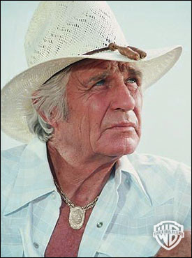 Jock Ewing played by Jim Davis in Dallas