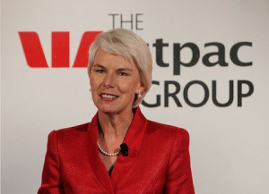 Westpac CEO Gail Kelly ... the bank is forecasting that economic ...