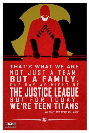 Red Robin quote: Batman Quotes, Tim Drake Young Justice, Red Robin Tim ...
