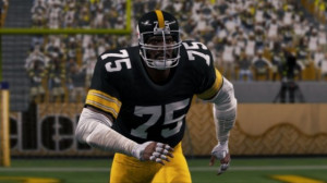 ... out the new Madden NFL 13 screenshot , featuring Mean Joe Greene