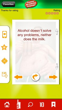... Sayings - Party Quotes and Jokes About Alcohol for iPhone screenshot