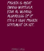 Fashion Statement Quotes