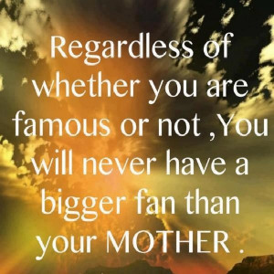 Another statement that is such truth it's amazing. Thank you Mom as ...
