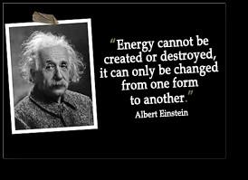The amazing Mr. Albert Einstein explained: