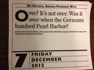 Animal House Pearl Harbor Quote
