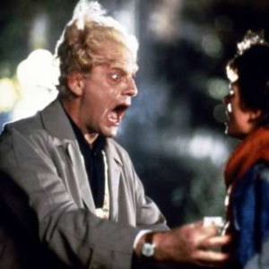 Stills from the Back to the Future: