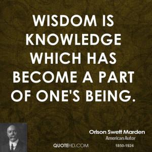 Orison Swett Marden Wisdom Quotes
