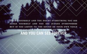 doubt, forever, motivation, motivational, motivational quote, quote