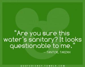 Re: Disney quotes