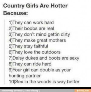 Country Girls Do It Better~