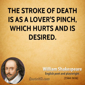 William Shakespeare Quotes About Death