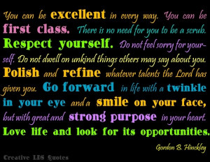Creative LDS quotes