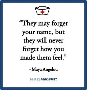Maya Angelou #Nurses #Nurse #Quotes #MedlineUMaya Angelou, Nursing ...