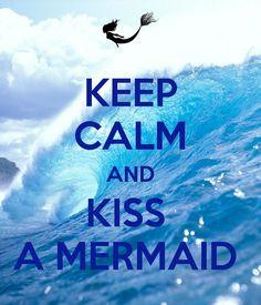 Mermaid Art, Keep Calm and Wear Pearls