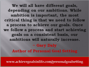 Famous Quotes For Goal Setting