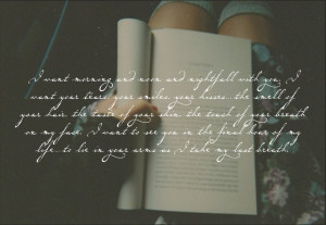 Quotes by C.S. Lewis, Jodi Picoult, Marina Tsvetaeva / photo by ...