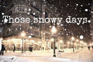 Winter Quotes Snowy days winter quotes