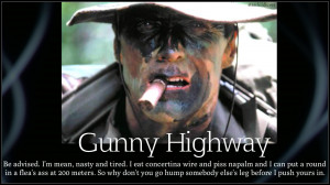 Clint Eastwood Clint Eastwood in Heartbreak Ridge